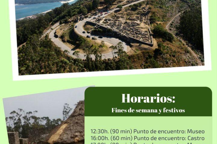 Visitas guiadas ata 1 de outubro Monte Santa Trega