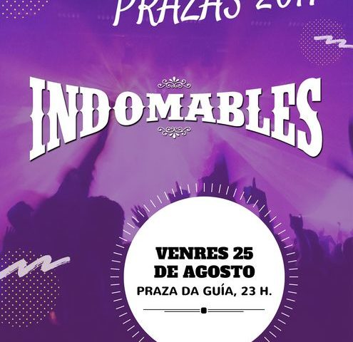 Música nas Prazas - Indomables Coverband