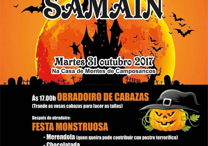 Festa de Samaín en Camposancos