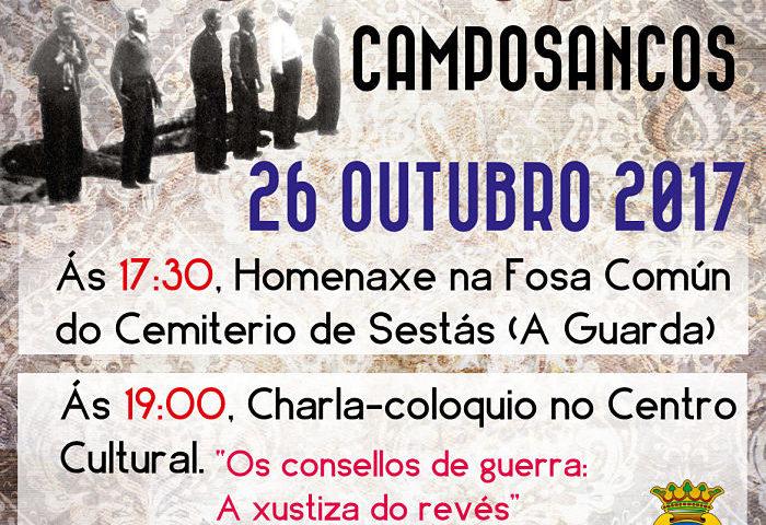 Homenaxe aos asasinados en Camposancos