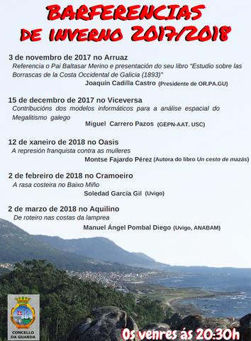 Barferencias de Inverno 2017/2018