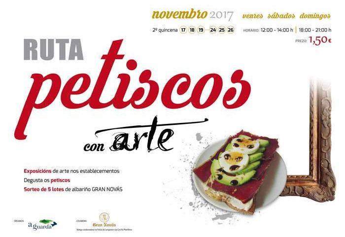 """Ruta gastronómica """"Petiscos con arte"""""""