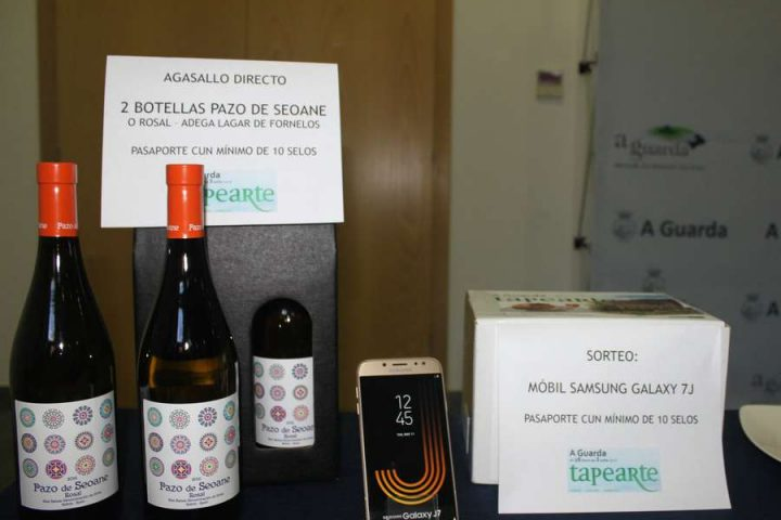 Premios da IV ruta gastronómica «Tapearte»