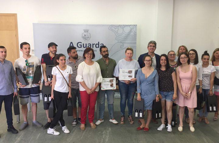 NP 19062018 A Guarda entrega os premios da ruta Tapearte 2018 (1)