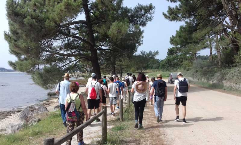 De manera general, las tareas desenvueltas en la oficina de información turística se basaron en la atención directa al visitante; proporcionando información turística, tanto sobre los recursos y eventos de interés de la localidad, como sobre los existentes en la comarca y localidades próximas.