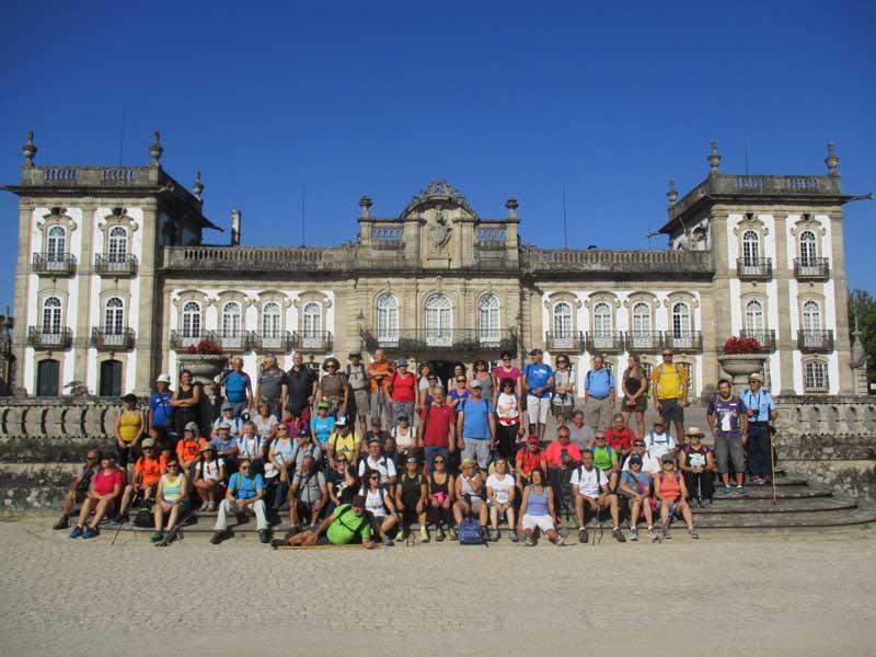 A primeira andaina, desta nova sesión celebrouse o pasado sábado día 15 de setembro, onde os participantes percorreron a Ruta da Cova Moura nas terras portuguesas de Monçao cunha distancia total de preto de 20 km.