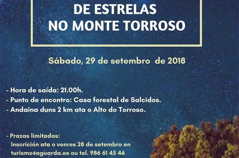 A Guarda celebra el Día Mundial del Turismo con una jornada de observación de estrellas