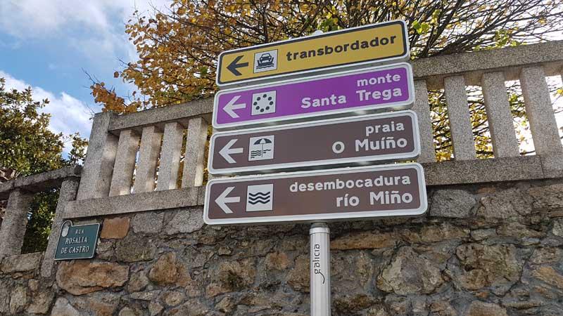 O Concello da Guarda ven de mellorar a sinalización turística grazas a unha subvención para actuacións de mellora das infraestruturas turísticas de Turismo de Galicia presentada a comezos deste ano.