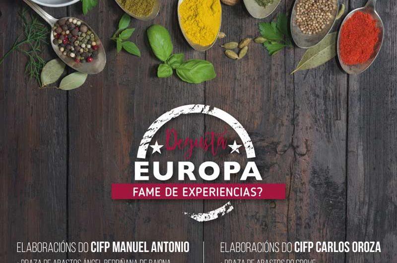 Contando con las elaboraciones realizadas por los alumnos del CIFP Manuel Antonio, la Plaza de Abastos de A Guarda acogerá esta muestra culinaria el próximo jueves día 11 de abril en horario de 11:00h a 12:00h.
