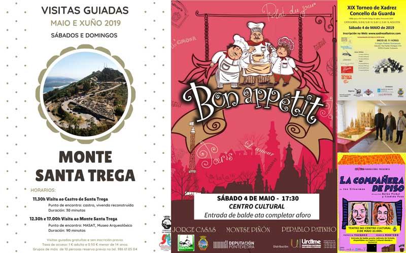 A Guarda da la bienvenida al mes de mayo con actividades culturales, turísticas y deportivas